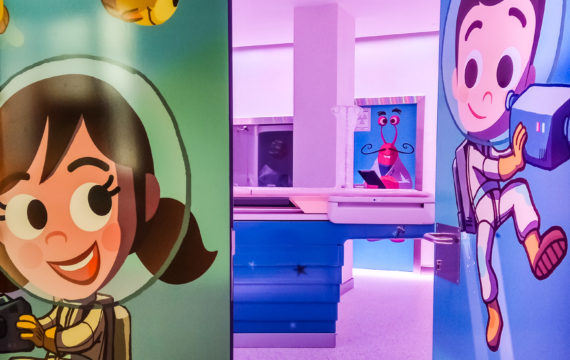Imatgina initiative helps children deal with radiology experience