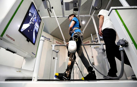Toyota launches rental service for rehabilitation robot