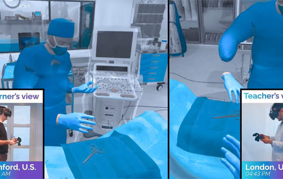 virtual/mixed/augmented reality surgeons