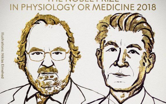 Nobel Prize In Physiology Or Medicine 2018
