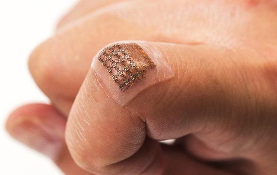 Wearable Patch Monitors Blood Pressure Deep Inside Body